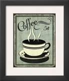 Retro Coffee I Prints by N. Harbick