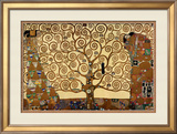 The Tree of Life Posters by Gustav Klimt