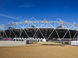 The Olympic Stadium Viewed from Stratford Way, London, England, United Kingdom, Europe Photographic Print by Mark Chivers