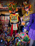 Costume Makers for Oruro Carnival Parade, Oruro, Bolivia, South America Photographic Print by Phil Clarke-Hill