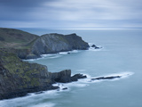 Cliffs Near Hartland Point in North Devon, England, United Kingdom, Europe Photographic Print by Adam Burton