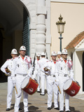 Changing of the Guard at the Princes Palace, Monte Carlo, Monaco, Europe Photographic Print by Richard Cummins