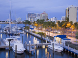 Intercoastal Waterway, Fort Lauderdale, Broward County, Florida, USA, North America Photographic Print by Richard Cummins