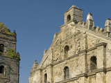 Paoay Church from 1710, Example of Earthquake Barocco,UNESCO World Heritage Site, Philippines Photographic Print by Luca Tettoni