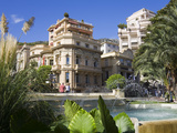 Casino Gardens, Monte Carlo, Monaco, Europe Photographic Print by Richard Cummins