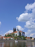 Albrechtsburg, Meissen, Saxony, Germany Photographic Print by Michael Runkel