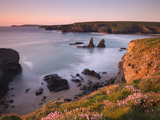 Porthcothan Bay on a Spring Evening, Cornwall, England, United Kingdom, Europe Photographic Print by Adam Burton