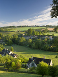 The Picturesque Village of Naunton in the Cotswolds, Gloucestershire, the Cotswolds, England, UK Photographie par Adam Burton
