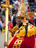Sorcerer, Oruro Carnival Procession Parade, Oruro, Bolivia, South America Photographic Print by Phil Clarke-Hill