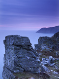Foreland Point from the Valley of Rocks at Dawn, Exmoor, Devon, England, United Kingdom, Europe Photographic Print by Adam Burton