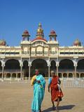 Maharaja's Palace, Mysore, Karnataka, India, Asia Photographic Print by  Tuul