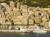 Yacht Leaving Port De Monaco, Monte Carlo City, Monaco, Mediterranean, Europe Photographic Print by Richard Cummins