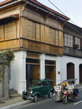Casa Gahol, a Heritage House of Taal Now Housing Orlina Gallery, Taal, Batangas, Philippines Photographic Print by Luca Tettoni