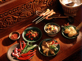 Javanese Food, Indonesia, Southeast Asia, Asia Photographic Print by Luca Tettoni