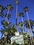Sign for Beverly Hills Hotel, Beverly Hills, Los Angeles, California, Usa Photographic Print by Wendy Connett