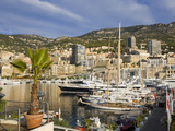 Yacht Marina in Port De Monaco, Monte Carlo City, Monaco, Mediterranean, Europe Photographic Print by Richard Cummins
