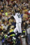 NFL Playoffs 2013: Seahawks vs Redskins - Sidney Rice Photographic Print by Matt Slocum
