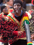 Negritos, Oruro Carnival Procession Parade, Oruro, Bolivia, South America Photographic Print by Phil Clarke-Hill