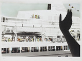 Bon Voyage Cruise Ship Farewell Photographic Print by Theo Westenberger