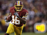 NFL Playoffs 2013: Seahawks vs Redskins - Alfred Morris Photographic Print by Evan Vucci