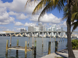 Miami Skyline, Florida, United States of America, North America Photographic Print by Richard Cummins