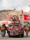 Oruro Carnival Procession Parade, Oruro, Bolivia, South America Photographic Print by Phil Clarke-Hill