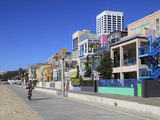 The Strand, Beach Houses, Santa Monica, Los Angeles, California, USA, North America Photographic Print by Wendy Connett