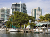 Dinner Key Marina in Coconut Grove, Miami, Florida, United States of America, North America Photographic Print by Richard Cummins
