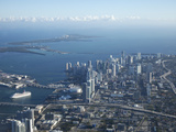 Aerial View of Miami, Florida, United States of America, North America Photographic Print by Angelo Cavalli