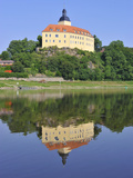 Castle Hirschstein, Saxony, Germany Photographic Print by Michael Runkel