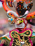 Devil Dancer, Oruro Carnival Procession Parade, Oruro, Bolivia, South America Photographic Print by Phil Clarke-Hill