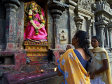 Arunachaleswar Temple, Tiruvannamalai, Tamil Nadu, India, Asia Photographic Print by  Tuul