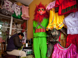 Costume Maker for Oruro Carnival Parade, Oruro, Bolivia, South America Photographic Print by Phil Clarke-Hill