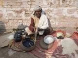 Snake Charmer at Rural Cattle Fair, Sonepur, Bihar, India, Asia Photographic Print by Annie Owen