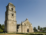 Paoay Church Dating from 1710, UNESCO World Heritage Site, Ilocos Norte, Philippines Photographic Print by Luca Tettoni