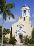 Historic Congregational Church, Coral Gables, Miami, Florida, USA, North America Photographic Print by Richard Cummins