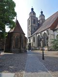 UNESCO World Heritage Site, Luther's Town of Wittenberg, Saxony-Anhalt, Germany Fotografisk trykk av Michael Runkel