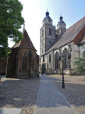 UNESCO World Heritage Site, Luther's Town of Wittenberg, Saxony-Anhalt, Germany Photographic Print by Michael Runkel