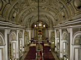Interior of San Augustin Church, Survived American Bombing, UNESCO World Heritage Site, Philippines Photographic Print by Luca Tettoni