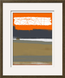 Abstract Orange 1 Prints by  NaxArt