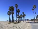 Santa Monica, Los Angeles, California, Usa Fotografisk tryk af Wendy Connett