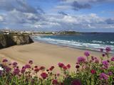 Great Western Beach, Newquay, Cornwall, England Fotodruck von Stuart Black