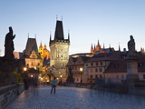 Charles Bridge, UNESCO World Heritage Site, Prague, Czech Republic, Europe Photographic Print by Gavin Hellier