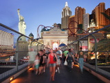 The Statue of Liberty Outside the Famous New York New York Hotel, Las Vegas, Nevada, USA Photographic Print by Gavin Hellier