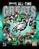 Philadelphia Eagles All Time Greats Composite Photo