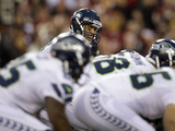 NFL Playoffs 2013: Seahawks vs Redskins - Russell Wilson Photo av Matt Slocum