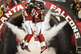 NFL Playoffs 2013: Falcons vs 49ers - Stephen Nicholas and Akeem Dent Photographic Print by Mark Humphrey