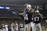NFL Playoffs 2013: Texans vs Patriots - Shane Vereen Photographic Print by Elise Amendola