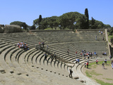 Roman Theatre, Ostia Antica, Latium, Lazio, Italy, Europe Photographic Print by Rolf Richardson