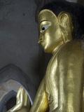 Seated Buddhas, Gawdawpalin Pahto, Bagan (Pagan), Myanmar (Burma), Asia Photographic Print by Richard Maschmeyer